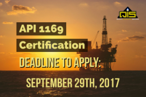 API 1169 deadline
